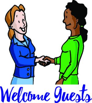 welcome guests